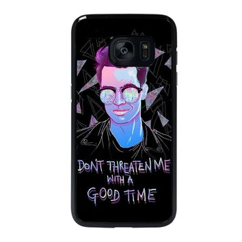 PANIC AT THE DISCO BRENDON URIE Samsung Galaxy S7 Edge Case