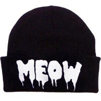 - Kill Star Meow Beanie Hat