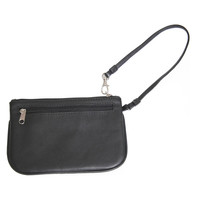 Royce Leather  'Aurelie' Slim Wristlet Wallet in Genuine Leather