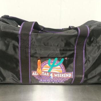 Vintage 90's NBA All Star Weekend 1995 Basketball Converse Sports Duffle Bag Basketbal