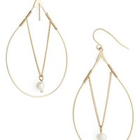 Women's Topshop Beaded Drop Earrings - Gold