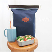 Lunch Bag - Waterproof Thermal Insulated Cooler- Carry Storage Picnic Pouch