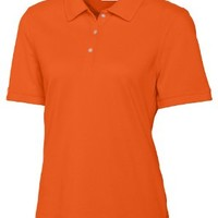 Cutter And Buck Women's Ribbed Collar Comfort Pique Polo Shirt:Amazon:Clothing