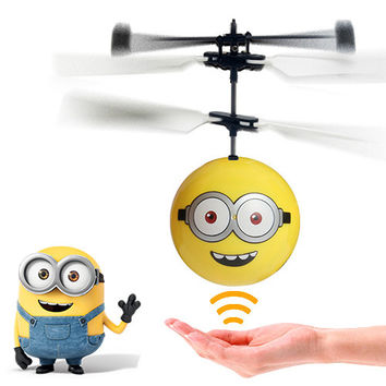 Despicable Me Minion Remote Control Helicopter-Bob