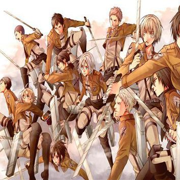 Cool Attack on Titan  Ship Fashion Wallpapers Custom  Canvas Poster humanity no  Wall Stickers Home Decor #PN#152# AT_90_11