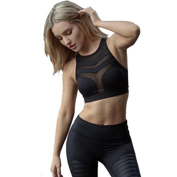Sexy Racerback Breathable Meshed Sportsbra