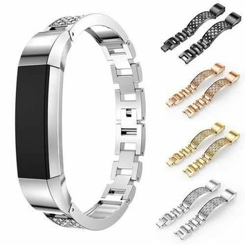 Rhinestone Watch Band Replacement for Fitbit Alta / Alta HR