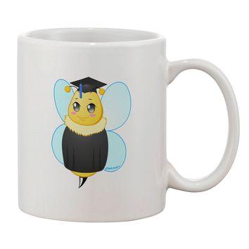 Graduation Bee Printed 11oz Coffee Mug by TooLoud