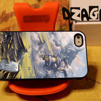 howls Moving Castle case cell phone for iPhone 4/4S, iPhone 5/5S/5C and Samsung Galaxy S3/S4/S5