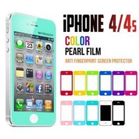 Amazon.com: Mercury Color Screen Protector for Apple iPhone 4 (Turquoise / Mint): Cell Phones & Accessories