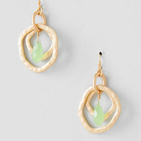 HAZELHURST LAYERED DROP EARRINGS