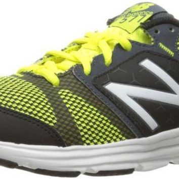 DCCK1IN new balance men s 577v4 cush training shoe grey yellow 9 5 4e us