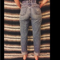 MOVING SALE****VINTAGE DISTRESSED MOM JEANS