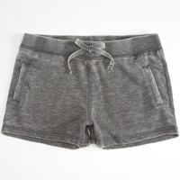 Full Tilt Burnout Girls Shorts Charcoal  In Sizes