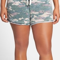 Plus Size Women's Honeydew Intimates Burnout French Terry Shorts ,
