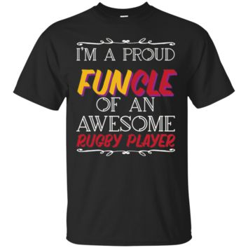Awesome Rugby Player T-Shirt Hoodie, Rugby Funny Uncle T-Shirt Hoodie