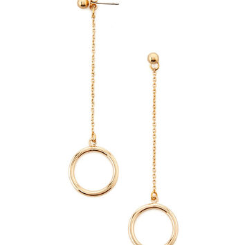 O-Ring Drop Earrings