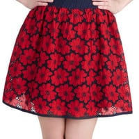 Fancy Flora Skirt