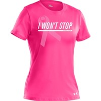 Under Armour Women's Power In Pink I Won't Stop Graphic T-Shirt - Dick's Sporting Goods