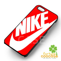 Red Just Do It Nike - zzDzz for  iPhone 6S case, iPhone 5s case, iPhone 6 case, iPhone 4S, Samsung S6 Edge
