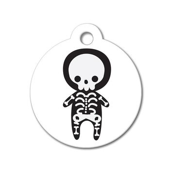 Skeleton - Halloween Pet Tag
