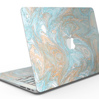 Slate Marble Surface V28 - MacBook Air Skin Kit