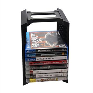 Alloy Game Disk Storage Tower  for 12 Holding