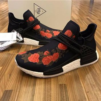 Best Online Sale GUCCI x Pharrell Williams  x Adidas PW HU Human Race NMD Boost Sport Running Shoes Classic Casual Shoes Sneakers