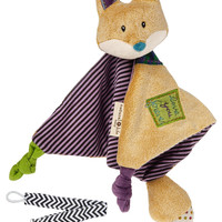 Mary Meyer 60001 Love You Forever Fox Baby Blanket Toy with Pacifier Clip