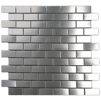 1x2 Stainless Steel Tile