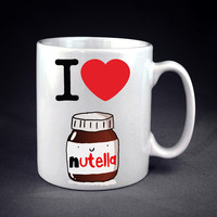 I Heart Nutella Personalized mug/cup