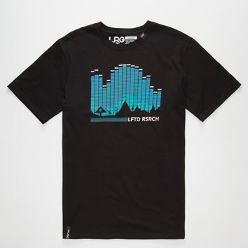 Lrg Digital Mens T-Shirt Black  In Sizes