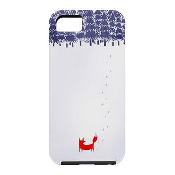Robert Farkas Alone In The Forest Cell Phone Case