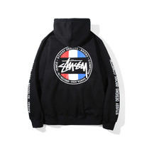 Stussy Zippers Slim Winter Cotton Hoodies Jacket [9448823559]
