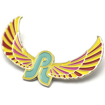 The Full Color PL Wings Pin