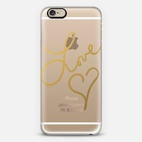 Love Beat (transparent) iPhone 6 case by Lisa Argyropoulos | Casetify