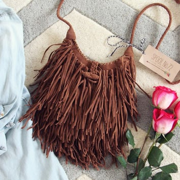 Sweetheart Fringed Tote