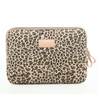 "Leopard Notebook Pouch Fabric Sleeve Bag Case for Macbook Laptop  10"" 11"" 12""13"" 14"" 15.6"""