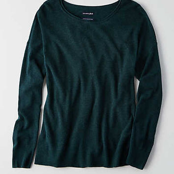 AEO Ahh-mazingly Soft Easy Sweater, Teal