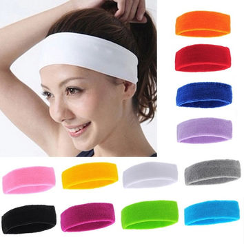 Ladies Fashion Mens Sports Headband Hairband Stretchy Sweatbands Yoga Gym Hair Head Band = 1705736644
