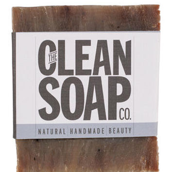 THE CLEAN SOAP CO. BLUEBERRY ACTIVATED CHARCOAL BAR