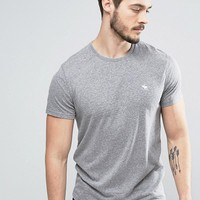 Abercrombie & Fitch Core T-Shirt Muscle Slim Fit in Grey at asos.com