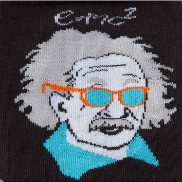 Einstein Relatively Cool Men's Crew Socks by Sock It To Me
