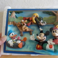 "Disney/Bradford Exchange Season's of Friendship ""Summer Fun"" 3-D Plaque"