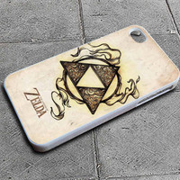 Legend of Zelda Triforce Custom iPhone 4 case, iPhone 5 case, Samsung galaxy case, Samsung Galaxy s3 , Samsung Galaxy s4 case