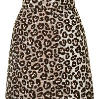 Ombre Animal A-Line Skirt