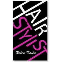 Hair Stylist Business Cards from Zazzle.com