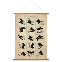 Shadow Puppets Wall Scroll