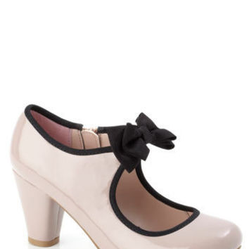 Piped Bow Trim Heeled Shoe - shoe boutique - older girls (8-16)  - Teens, Kids & Baby