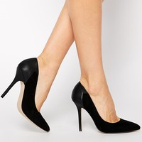 ASOS PLAYING WITH FIRE Pointed High Heels